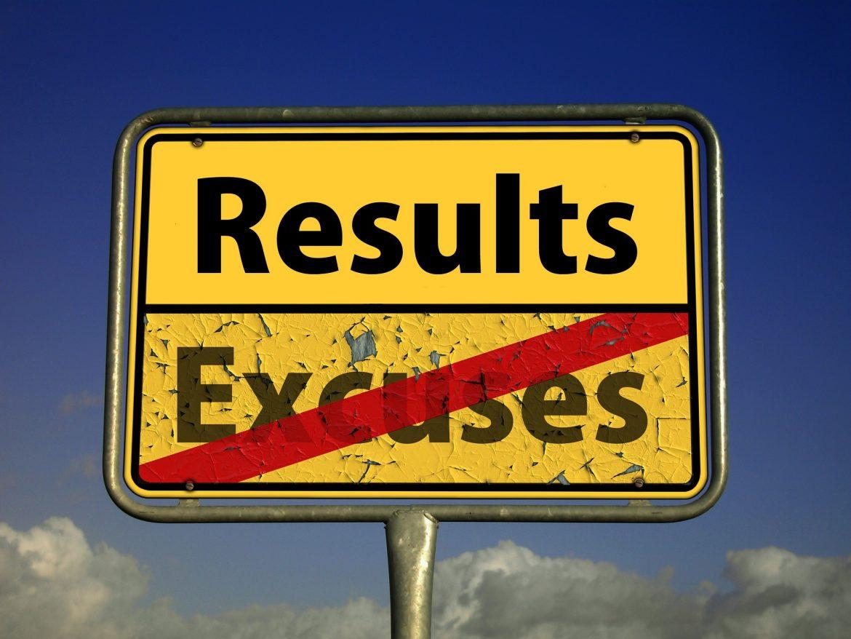 Резултати и извинения